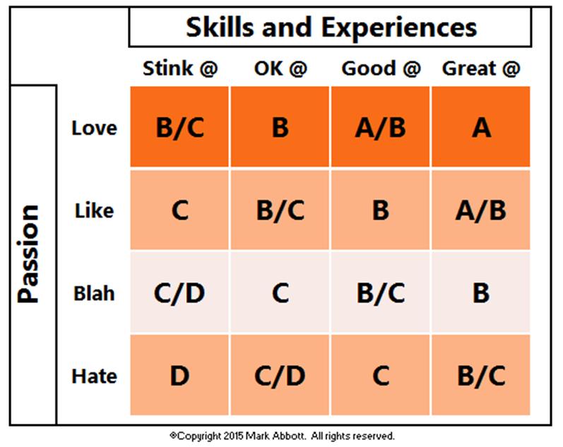 Skills vs. Passion